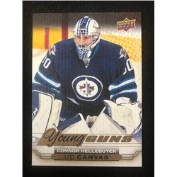 2015-16 UD Upper Deck Connor Hellebuyck CANVAS Young Guns