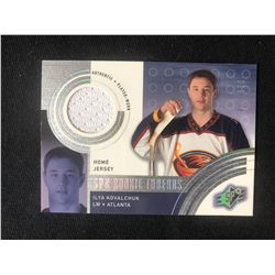 2001-02 SPX Rookie Threads Ilya Kovalchuk (793/800)