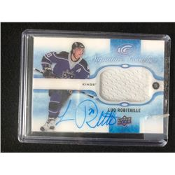 2015-16 Upper Deck Ice Signature Swatches #SS-LR Luc Robitaille Auto Hockey Card
