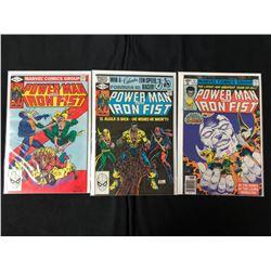 POWER MAN & IRON FIST COMIC BOOK LOT (MARVEL COMICS)