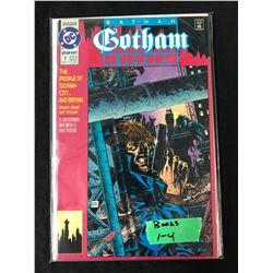GOTHAM #1-4 (DC COMICS)