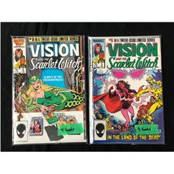 THE VISION AND THE SCARLET WITCH #9/ #5 COMIC BOOK LOT (MARVEL COMICS)