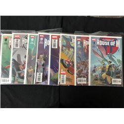 HOUSE OF M #1-8 (MARVEL COMICS)