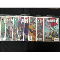 HOUSE OF M #1-8 (MARVEL COMICS)