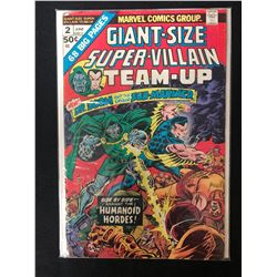 SUPER-VILLAIN TEAM UP #2 (MARVEL COMICS) *GIANT SIZE*