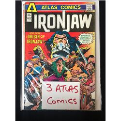 IRON JAW #4 (3 ATLAS COMICS)
