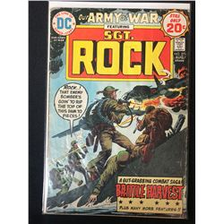 OUR ARMY AT WAR FEATURING SGT. ROCK #271 (DC COMICS)