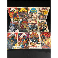 X MAN COMIC BOOK LOT (MARVEL COMICS)