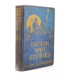 Indian Why Stories Early Ed. Linderman C.M.Russell