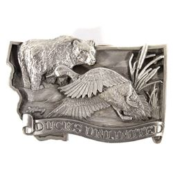 Ducks Unlimited Dave Maloney Belt Buckle 41/1500