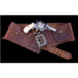 Factory Engraved British .44 Bulldog Revolver