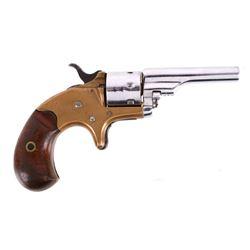 Colt Open Top Pocket Model .22 Revolver c. 1874