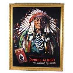 Prince Albert Tobacco Chief Joseph Print