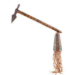 Northern Cheyenne Spontoon Pipe Tomahawk c. 1880-