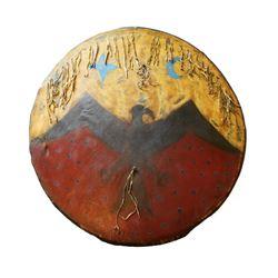 Cheyenne Ghost Dance Shield c. 1890 Yankton Museum