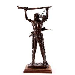 "Bob Scriver ""War Prize"" Original Bronze Sculpture"