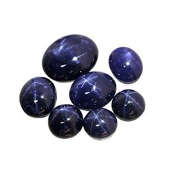 40.00 carats of Natural Star Sapphires