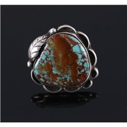 Navajo Royston Turquoise Silver Ring