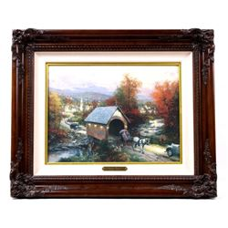 Country Memories by Thomas Kinkade w/ Certificate