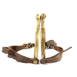 U.S. G.A.P. Cavalry Brass Spurs Model 1885