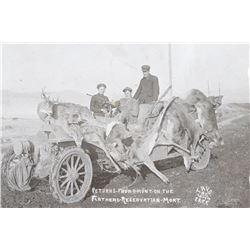 Flathead Reservation, Montana Hunt Photograph 1911