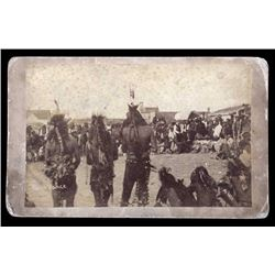 Great Omaha Dance of the Cheyenne in Montana 1891