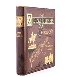 Zigzag Journeys in the Occident; Butterworth, 1883