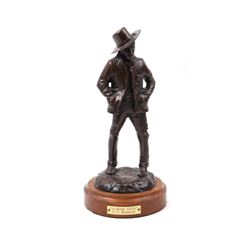 G.C. Wentworth Sunday Duds Bronze Sculpture