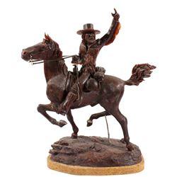 Original G. C. Wentworth Wax Sculpture w/ Rights