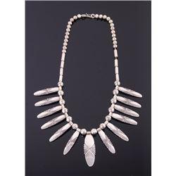 Navajo Sterling Silver Necklace