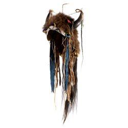 Sioux Buffalo Horn Headdress 1870's Style Replica