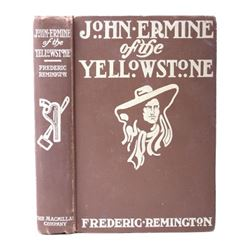 John Ermine of the Yellowstone- Frederic Remington