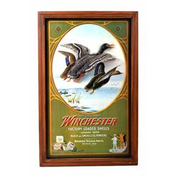 Winchester Duck Repeating Arms Calendar Top Print