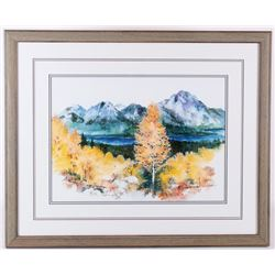 """Wyoming Colors"" Mike Kopp Authenticated Print"