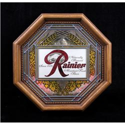 Rainier Beer Light Up Advertising Sign