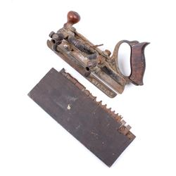 Early Rare Stanley 45 Combination Plow Plane