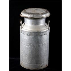 Gallatin CO-OP Metal Dairy Canister