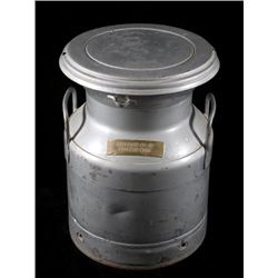 Montana Gallatin Co-op Metal Dairy Canister