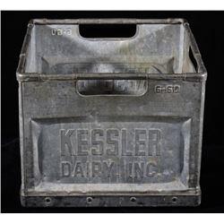 Kessler Dairy Inc. Metal Supply Crate