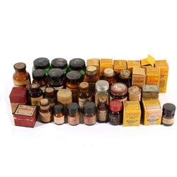 Collection of 1930's Veterinarian Medicine Bottles
