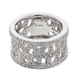 1.41 CTW Diamond Ring 14K White Gold - REF-95R4K