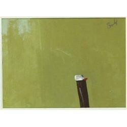 Charles Brady HRHA (1926-1997) CIGARETTE LIGHTER