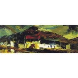 Kenneth Webb RWA FRSA RUA (b.1927) FARM BUILDINGS
