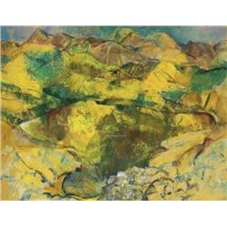 Mary Swanzy HRHA (1882-1978) THE YELLOW POOL