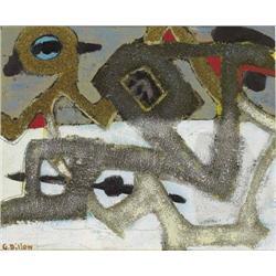 Gerard Dillon (1916-1971) ABSTRACT SNOW
