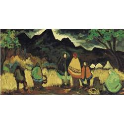 Markey Robinson (1918-1999) THE FRUITFUL EARTH