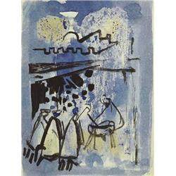 George Campbell RHA (1917-1979) ADORATION OF THE