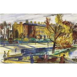 Norah McGuinness (1901-1980) THE GRAND CANAL, DUB