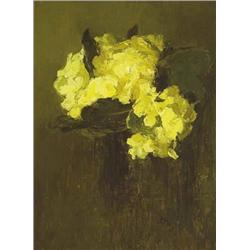 Grace Henry HRHA (1868-1953) PRIMROSES