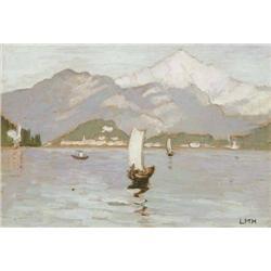 Letitia Marion Hamilton RHA (1878-1964) LAGO DI C
